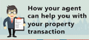 How your agent can help you with your property transaction