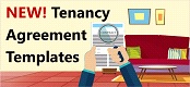 New tenancy agreement templates